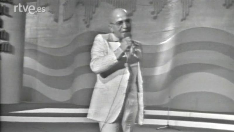 Final de la 17 edición del Festival de la Canción de Benidorm 1975