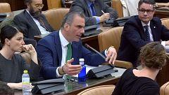 Vox interrumpe las alusiones de Bildu a las torturas policiales durante la comparecencia de Delgado en el Congreso