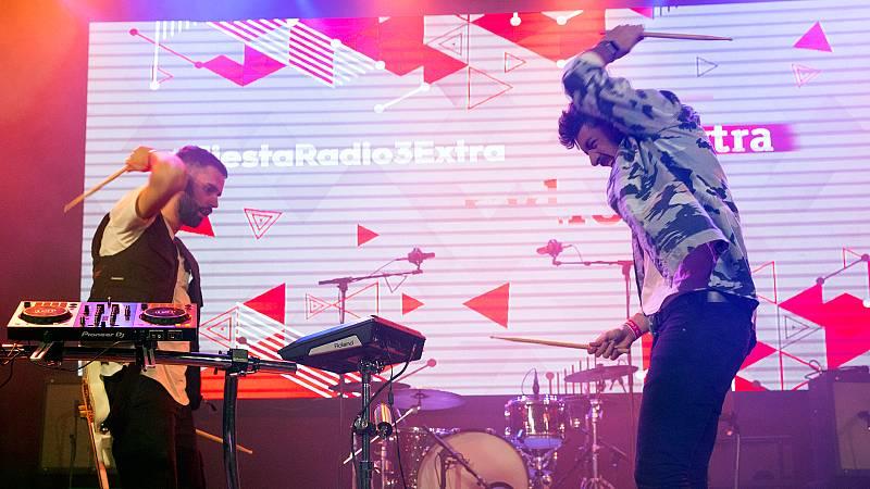 Zona Extra: VÍDEO: Siloé en la Fiesta de Radio 3 Extra - 21/02/20 - Ver ahora