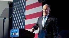 El multimillonario Michael Bloomberg se estrena en su carrera a la Casa Blanca en un agrio debate