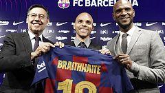 El Barça se refuerza con Martin Braithwaite