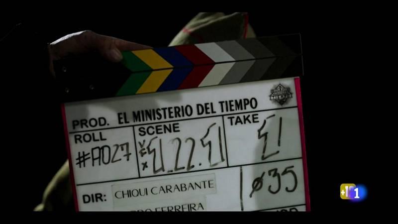 El Ministerio del Tiempo - Nos colamos en el rodaje de 'El Ministerio del Tiempo'