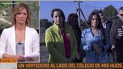 La Mañana - Los vecinos de Rubí protestan por la construcción de un vertedero a 700 metros de un colegio