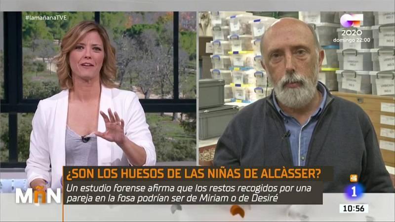 La Mañana - Entrevista a Francisco Etxeberría, forense encargado de los nuevos restos encontrados en el Caso Alcàsser