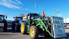 Manifestaciones de agricultores en cuatro comunidades autónomas