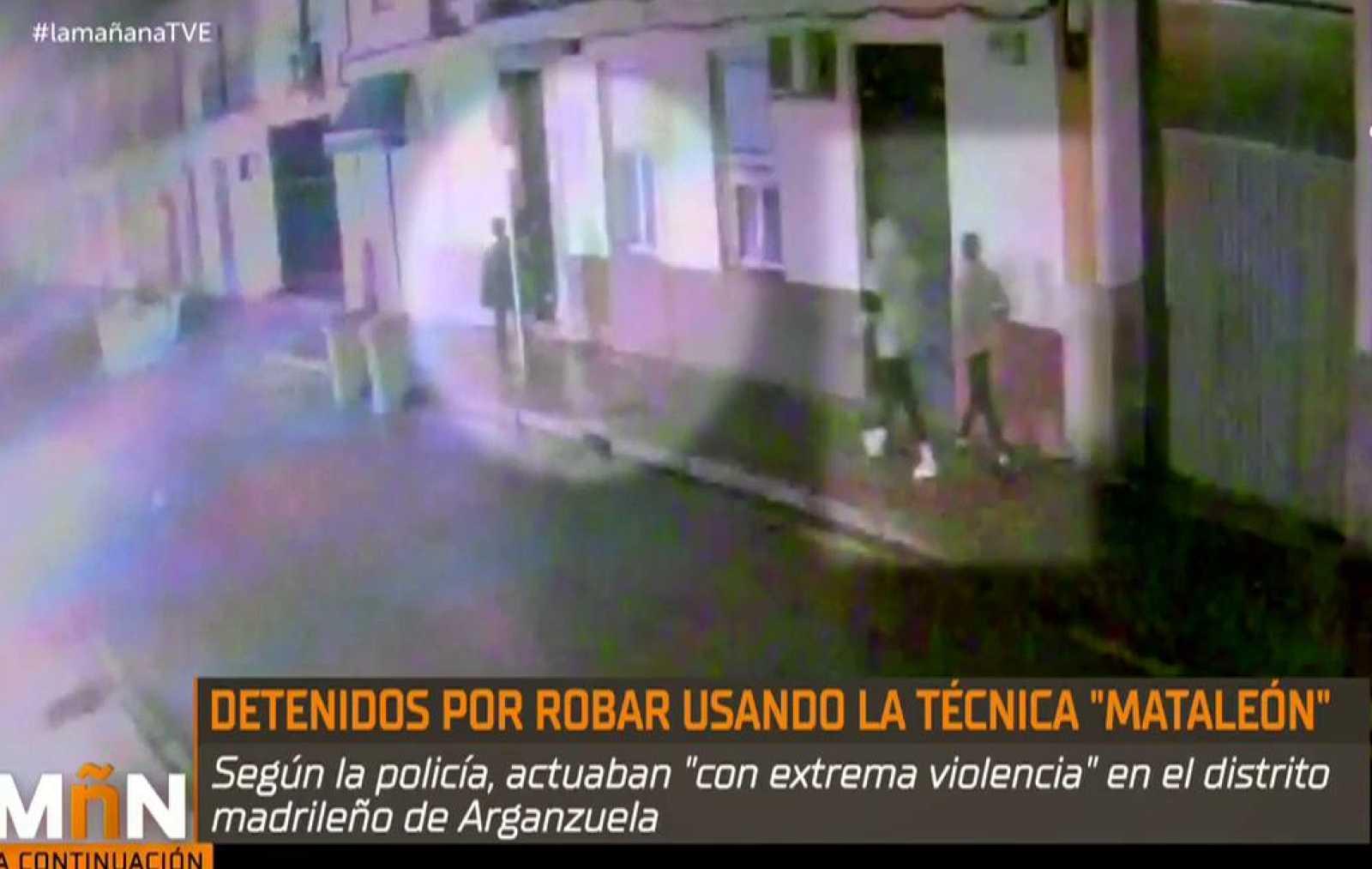 """La Mañana - Detenidos por agredir a unas víctimas con la técnica """"mataleón"""""""