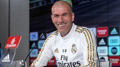 """Zidane: """"Ya sabemos que en marzo y abril se juega todo, pero es el ahora y el aquí"""""""