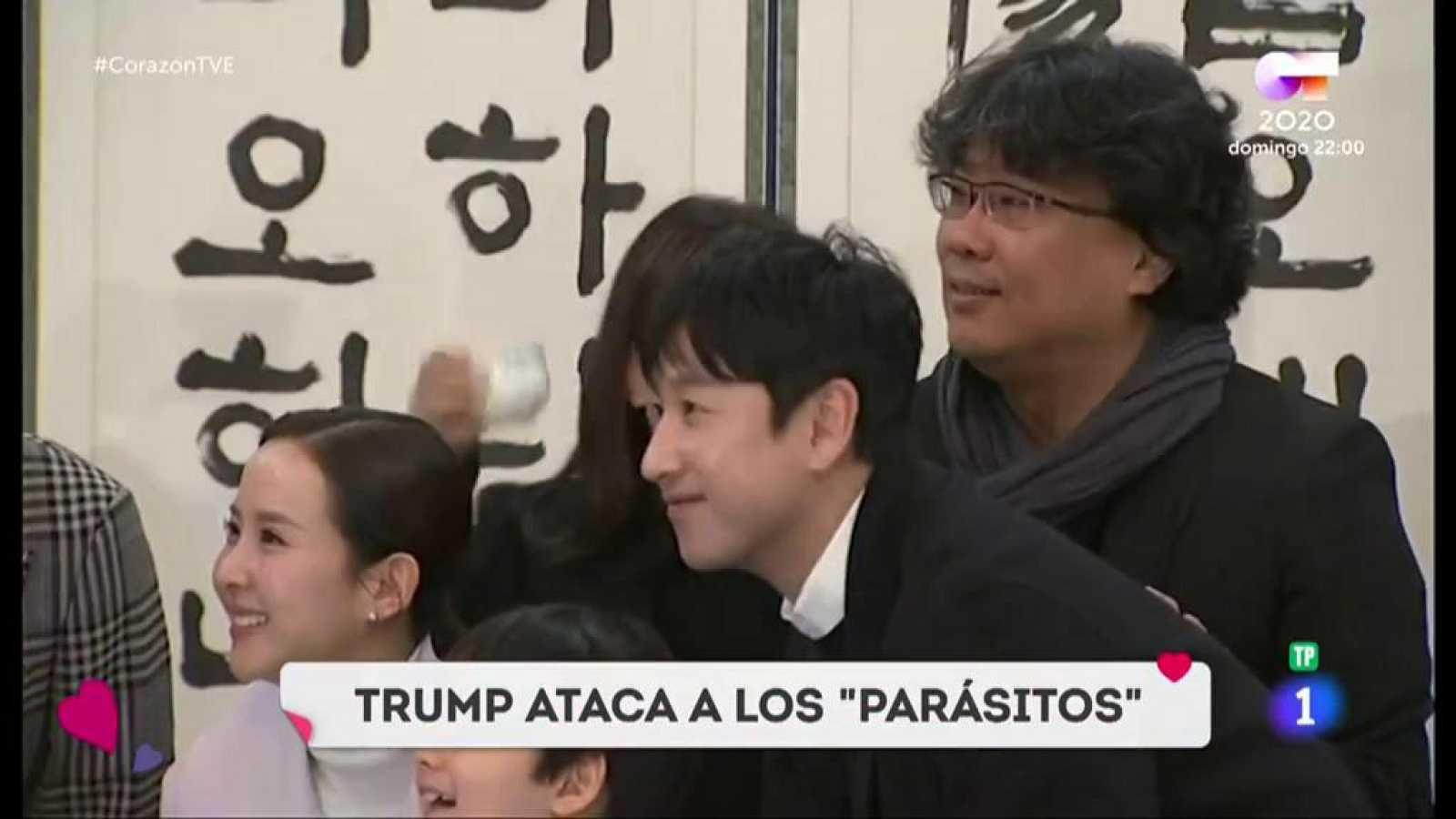 """Corazón - Trump se burla del cine coreano y la distrubuidora de EEUU de la misma le responde: """"Se entiende, no sabe leer"""""""