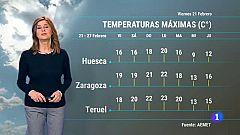 El tiempo en Aragón - 21/02/2020