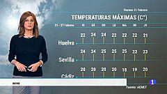 El Tiempo en Andalucía - 21/02/2020