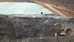 El vertedero Zaldibar, en continua combustión interna según los expertos