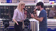 """OT 2020 - Rafa y Samantha cantan """"La lista de la compra"""" en el segundo pase de micros de la Gala 6 de Operación Triunfo"""