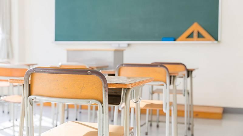 Menos de veinte alumnos en un colegio de la ciudad de León