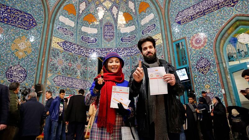 Irán pone fin a unas elecciones marcadas por el futuro de sus relaciones con Occidente