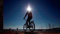 Tiempo soleado en casi toda la península y fuerte viento en Canarias