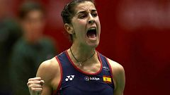Carolina Marín se mete en la final en Barcelona