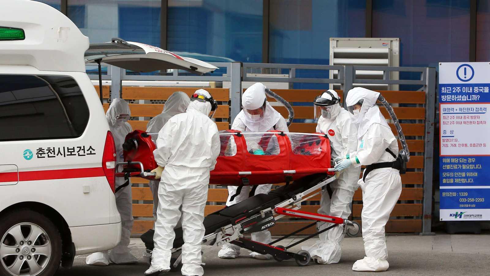 Aumentan los casos de coronavirus en Corea del Sur y Japón