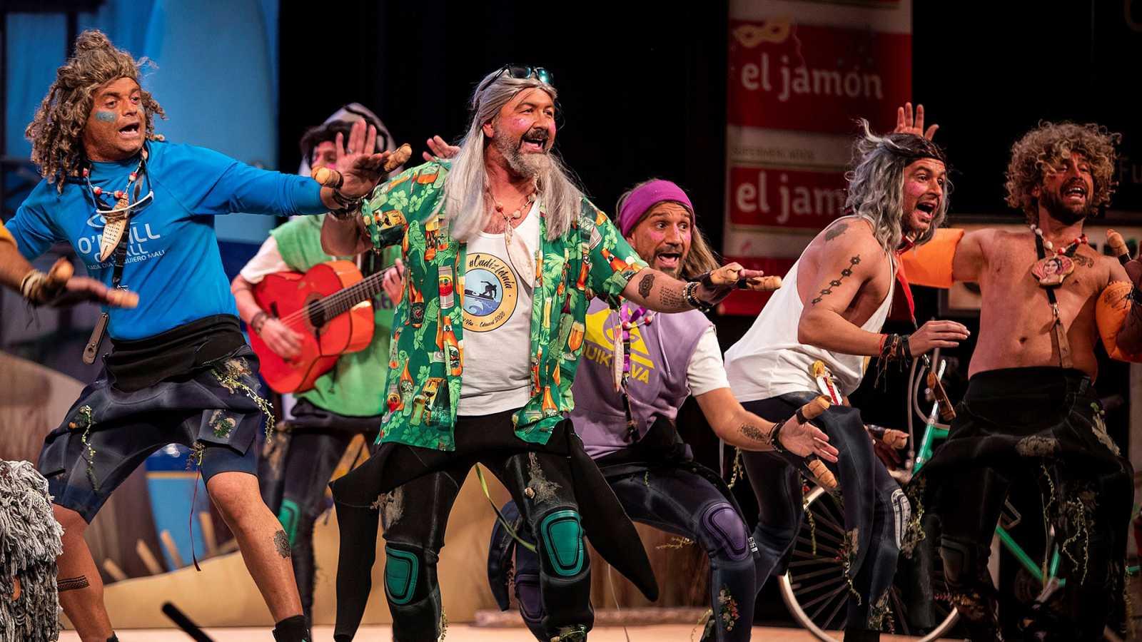 La chirigota 'Los CadizFornia' gana el Concurso Oficial de Agrupaciones Carnavalescas de Cádiz