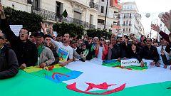 Primer aniversario de las protestas en Argelia