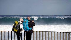 Soleado en casi todo el país, y fuerte viento en Estrecho y Canarias