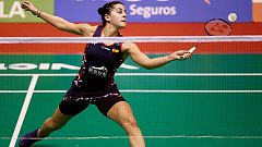 Bádminton - Barcelona Spain Masters Semifinal Individual Femenina: C. Marín - S. Katethong