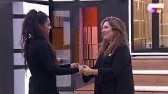 """OT 2020 - Estrella Morente y Nia ensayan """"Volver"""" en la Academia"""