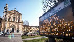 Dos muertos y 60 contagiados por coronavirus en Italia