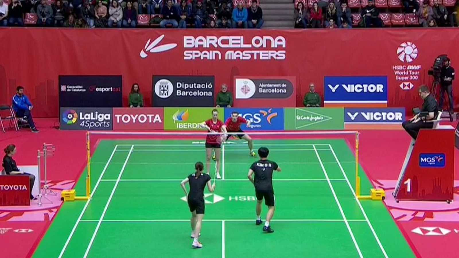 Bádminton - Barcelona Spain Masters Final Doble Mixto: Corea - Francia - ver ahora