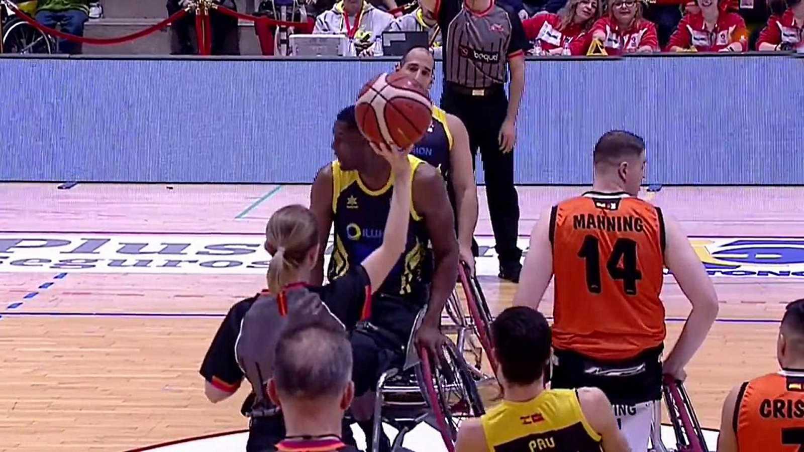 Baloncesto en silla de ruedas - Copa del Rey. Final: Amiab Albacete - CD Ilunion - ver ahora