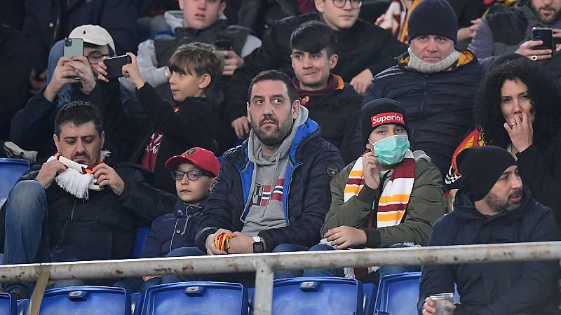 Suspendidos cuatro partidos en la Serie A por el coronavirus
