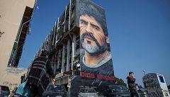 Nápoles, el templo de Maradona