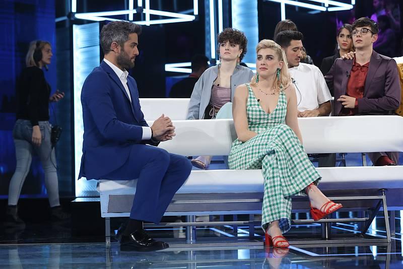 Samantha psicoanaliza a sus compañeros, a Roberto Leal y al jurado en la Gala 6 de Operación Triunfo 2020