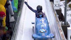 Bobsleigh A-2 Masculino - Campeonato del Mundo. 4ª manga