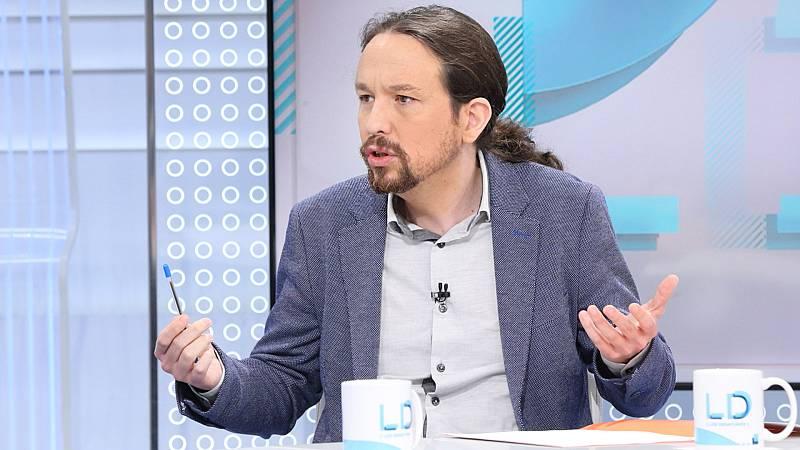 """Iglesias asegura que es de """"normalidad democrática"""" formar parte de la comisión delegada que supervisa el CNI"""