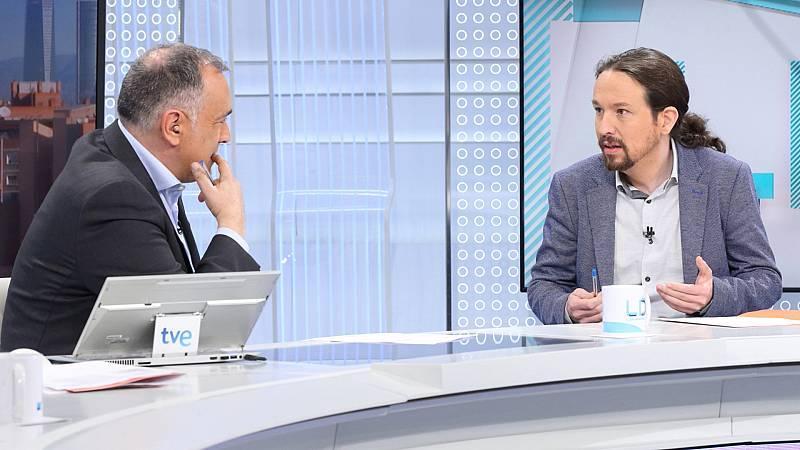 Los Desayunos de TVE: Entrevista a Pablo Iglesias
