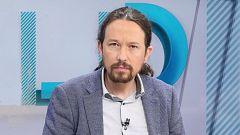 Los desayunos de TVE - Pablo Iglesias, vicepresidente segundo del Gobierno