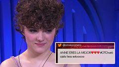 OT 2020 - Anne recibe el apoyo de Amaia Romero y Gèrard en El Chat
