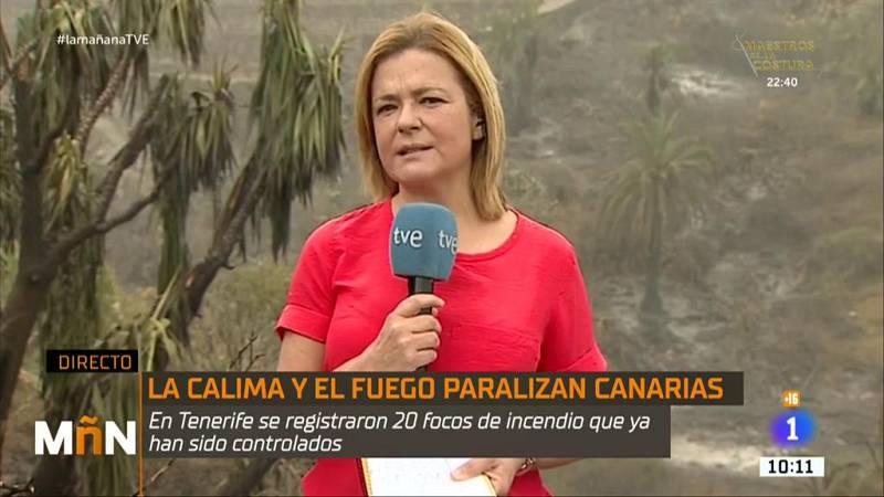 La Mañana - La situación desde Tenerife