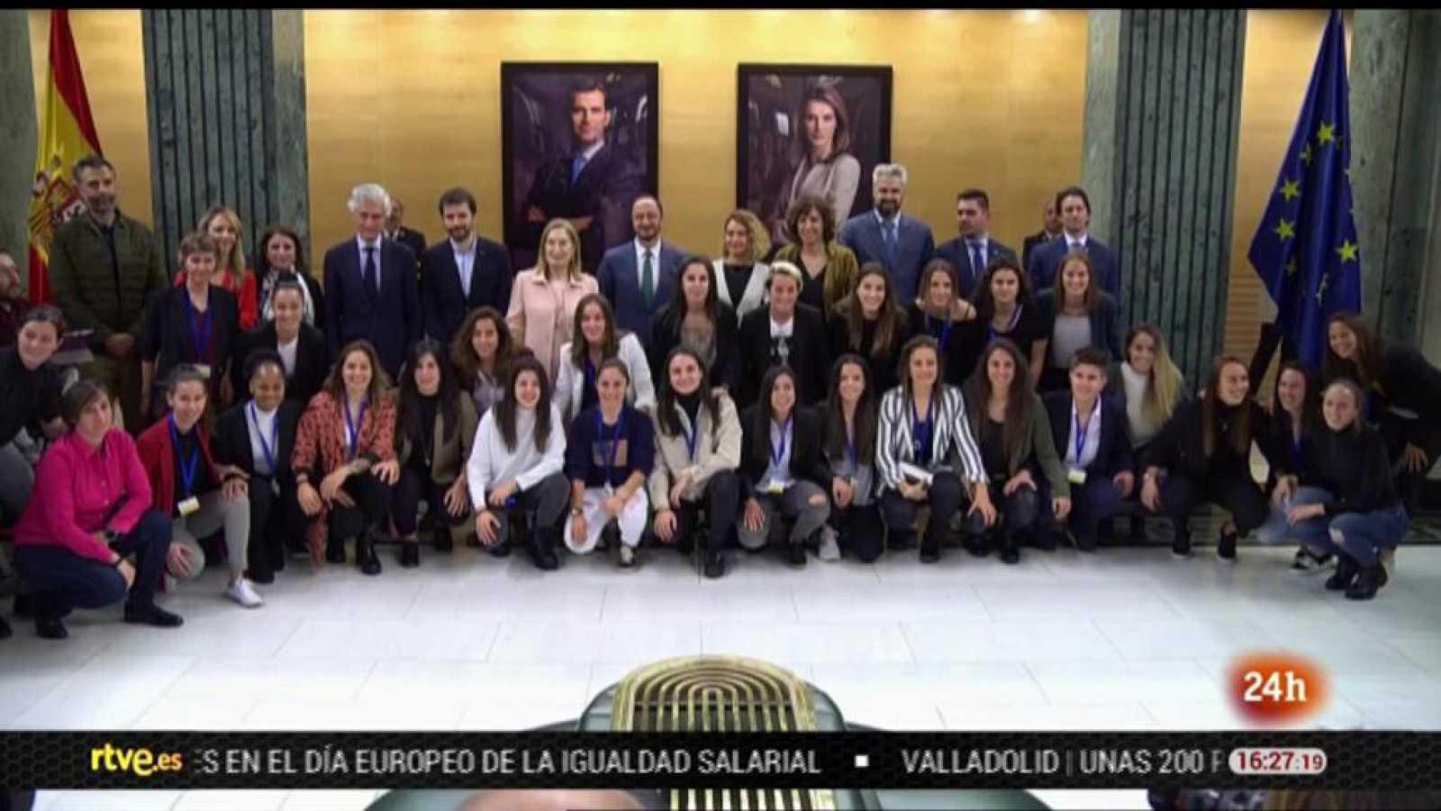 Parlamento - El reportaje - Firma del primer convenio profesional del fútbol femenino - 22/02/2020