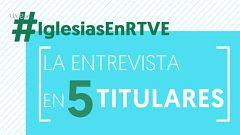 Cinco titulares de la entrevista a Pablo Iglesias en TVE