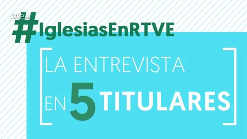 Vídeo: Cinco titulares de la entrevista a Pablo Iglesias en TVE