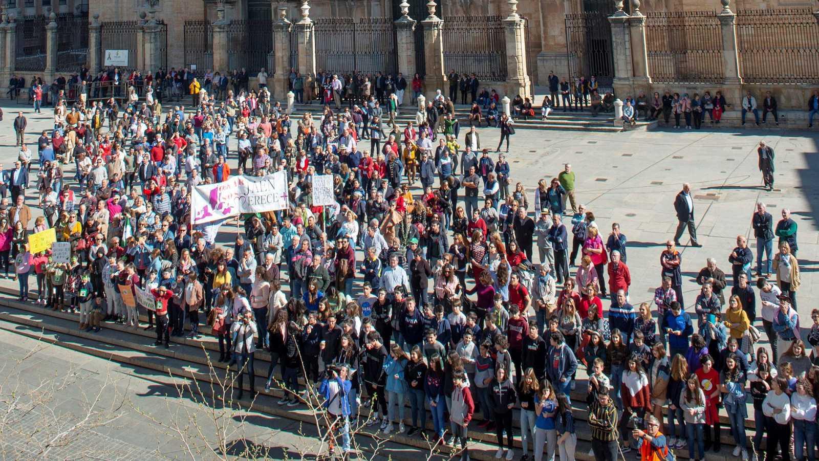 Los olivareros piden precios justos en Jaén