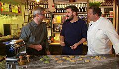 Aquí la tierra - Fabio nos enseña los tipos de pasta rellena