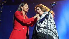 Corazón - Estrella Morente añadió unos versos protaurinos al inicio de su actuación con Nia