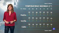 El Tiempo en Andalucía - 24/02/2020