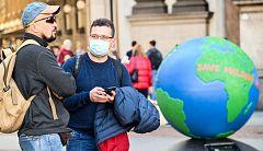 Turistas españoles sorprendidos por el coronavirus en Italia