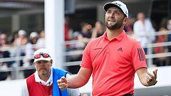 Rahm sube al segundo puesto del ranking PGA