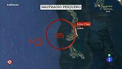 España Directo - Encuentran un cuerpo en la zona del naufragio de un pesquero en Cíes y buscan al otro tripulante