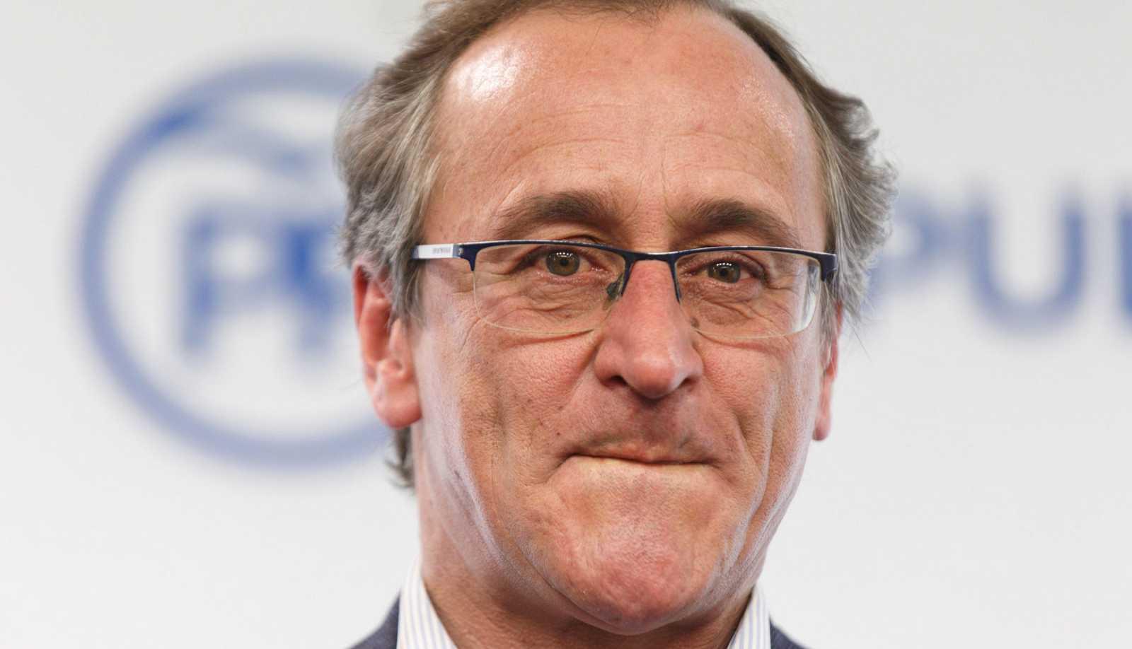Alfonso Alonso dimite como presidente del PP vasco y deja la política tras ser apartado como candidato