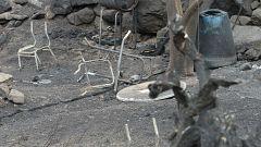 Los vecinos de Tasarte vuelven a sus casas tras controlar el incendio